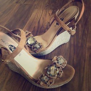 Taupe Wedges